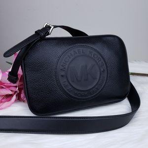 🌺NWT Michael Kors LG Fulton crossbody Bag Black
